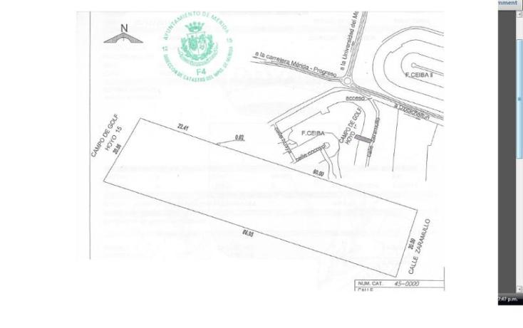 Foto de terreno habitacional en venta en samullo 57 1, club de golf la ceiba, m?rida, yucat?n, 1937498 No. 01