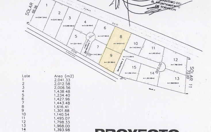 Foto de terreno habitacional en venta en  , san agustin, torreón, coahuila de zaragoza, 1141081 No. 01