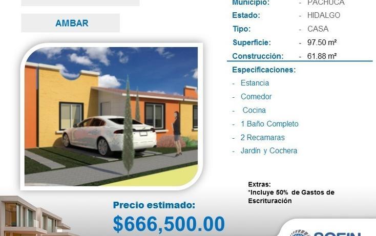 Foto de casa en venta en  , san alfonso, zempoala, hidalgo, 2022607 No. 01