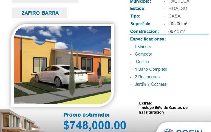 Foto de casa en venta en  , san alfonso, zempoala, hidalgo, 2022617 No. 01