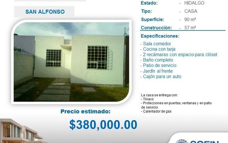 Foto de casa en venta en  , san alfonso, zempoala, hidalgo, 2036337 No. 01