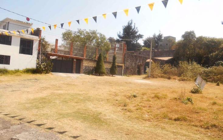 Foto de terreno habitacional en venta en  , san andrés totoltepec, tlalpan, distrito federal, 1706608 No. 01
