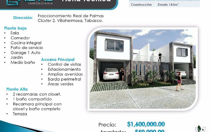 Foto de casa en venta en  , san ángel, centro, tabasco, 1183725 No. 01