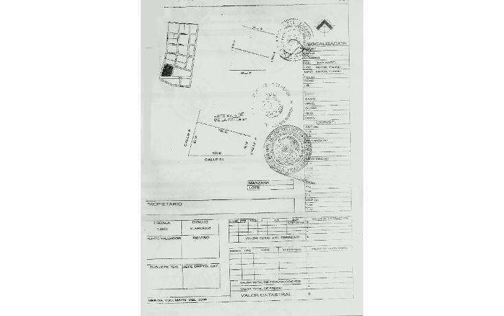 Foto de terreno comercial en venta en  , san ?ngel, kanas?n, yucat?n, 1292081 No. 02
