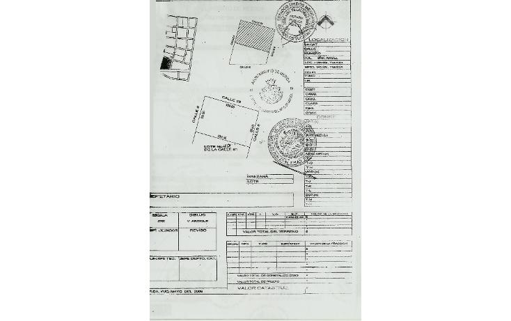 Foto de terreno comercial en venta en  , san ?ngel, kanas?n, yucat?n, 1292081 No. 03