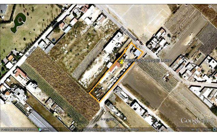 Foto de terreno habitacional en venta en  , san antonio cacalotepec, san andr?s cholula, puebla, 1045077 No. 01