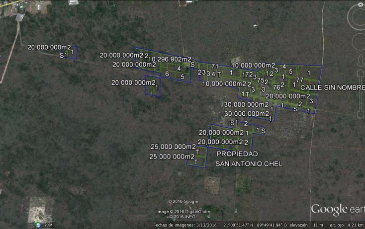 Foto de terreno habitacional en venta en  , san antonio chel, hunucmá, yucatán, 2623431 No. 01