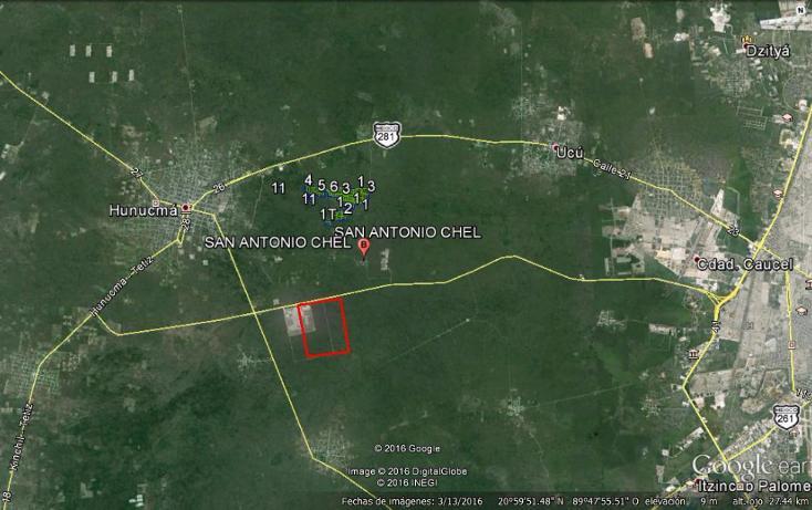 Foto de terreno habitacional en venta en  , san antonio chel, hunucmá, yucatán, 2623431 No. 03