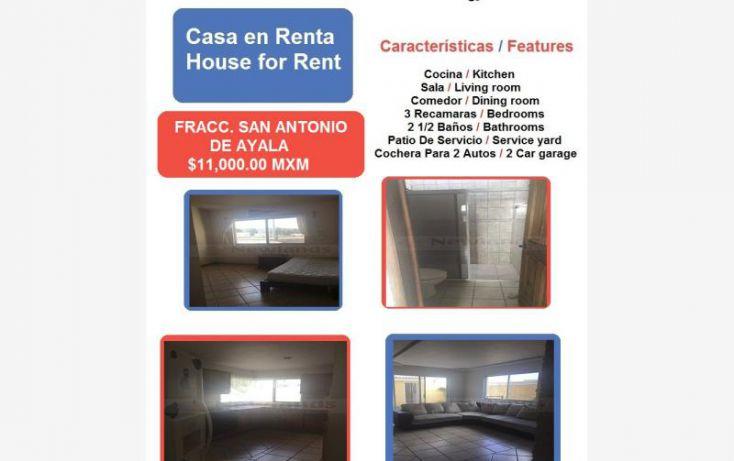 Foto de casa en renta en san antonio de ayala 1, san antonio, irapuato, guanajuato, 1762088 no 01