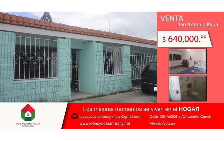 Foto de casa en venta en  , san antonio kaua, mérida, yucatán, 1417437 No. 01