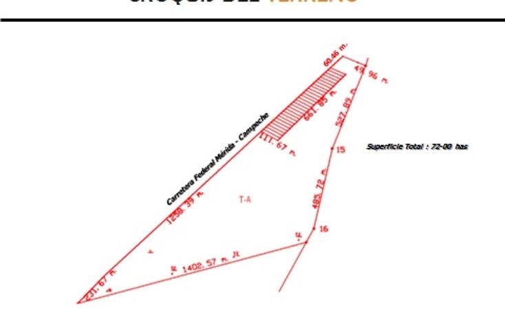Foto de terreno comercial en venta en  , san antonio mulix, umán, yucatán, 1189933 No. 03