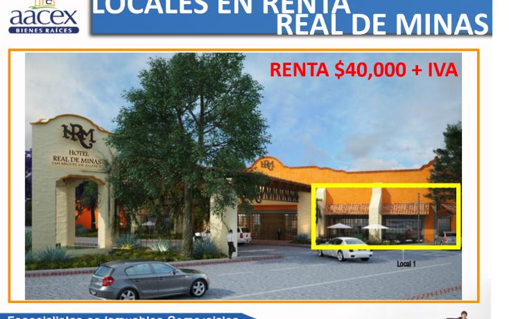 Foto de local en renta en  , san antonio, san miguel de allende, guanajuato, 1136525 No. 01