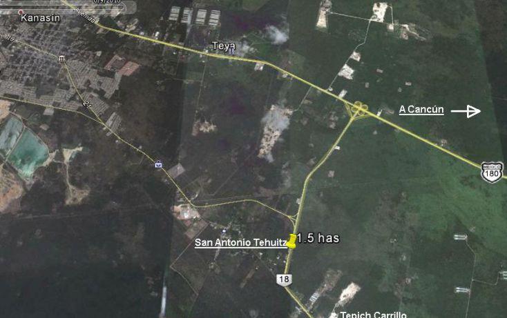 Foto de terreno comercial en venta en, san antonio tehuitz, kanasín, yucatán, 1998000 no 02