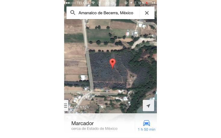 Foto de terreno habitacional en venta en  , san bartolo, amanalco, méxico, 829557 No. 05