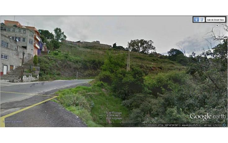 Foto de terreno habitacional en venta en  , san bartolomé coatepec, huixquilucan, méxico, 1298049 No. 01