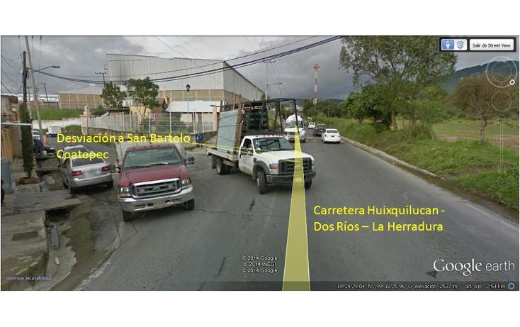 Foto de terreno habitacional en venta en  , san bartolomé coatepec, huixquilucan, méxico, 1298049 No. 03