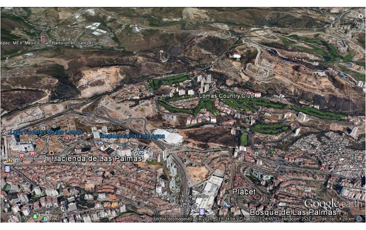 Foto de terreno habitacional en venta en  , san bartolomé coatepec, huixquilucan, méxico, 1298049 No. 04