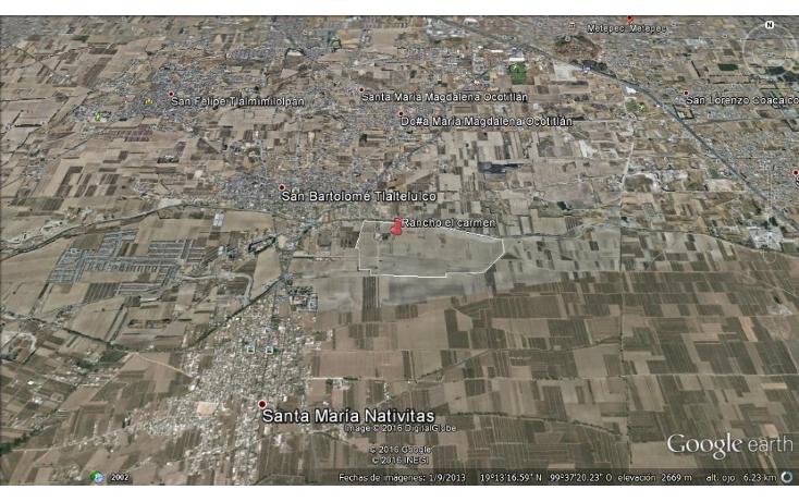 Foto de terreno habitacional en venta en  , san bartolomé tlaltelulco, metepec, méxico, 1178099 No. 01
