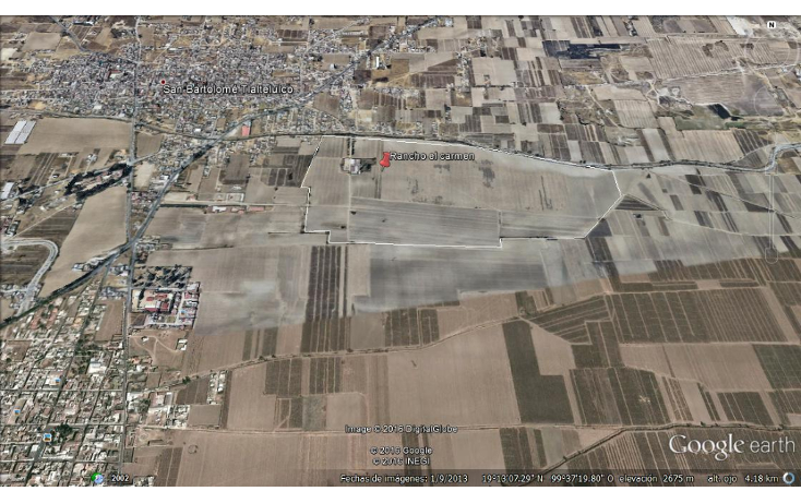 Foto de terreno habitacional en venta en  , san bartolomé tlaltelulco, metepec, méxico, 1178099 No. 02