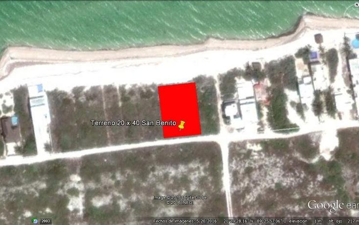 Foto de terreno habitacional en venta en  , san benito, ixil, yucatán, 2643876 No. 02