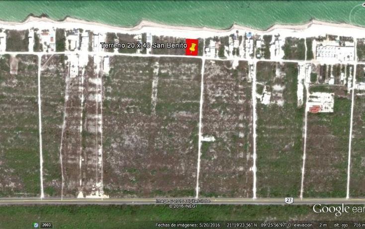 Foto de terreno habitacional en venta en  , san benito, ixil, yucatán, 2643876 No. 03