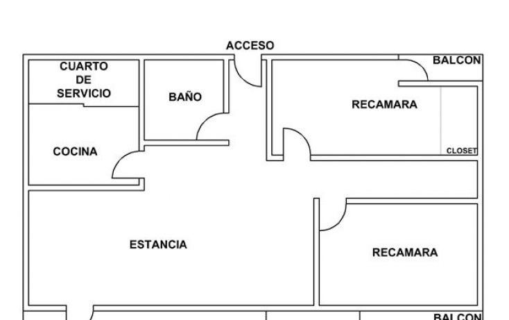 Foto de departamento en renta en san borja 604 int603, del valle centro, benito juárez, df, 1037515 no 01