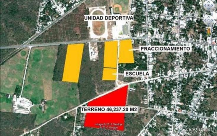Foto de terreno habitacional en venta en  , san carlos umán, umán, yucatán, 1701494 No. 02