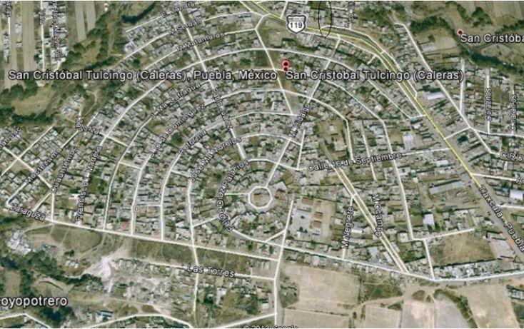 Foto de terreno habitacional en venta en, san cristóbal caleras tulcingo, puebla, puebla, 1281387 no 11