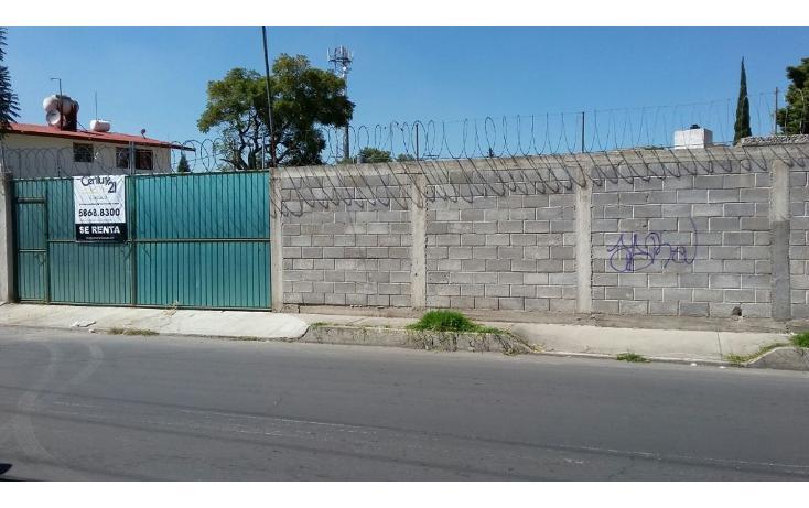 Foto de terreno habitacional en renta en  , san cristóbal, ecatepec de morelos, méxico, 1708046 No. 01