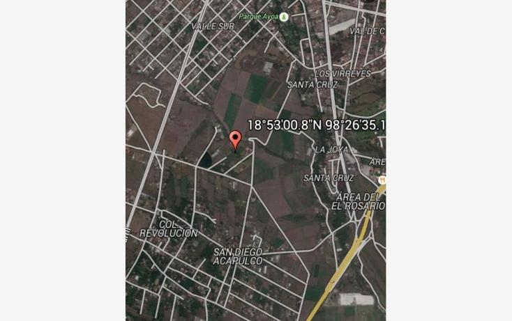 Foto de terreno habitacional en venta en san diego acapulco , san diego acapulco, atlixco, puebla, 1214715 No. 01