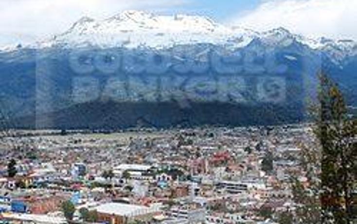 Foto de terreno habitacional en venta en  , san diego chalcatepehuacán, ayapango, méxico, 1683633 No. 01