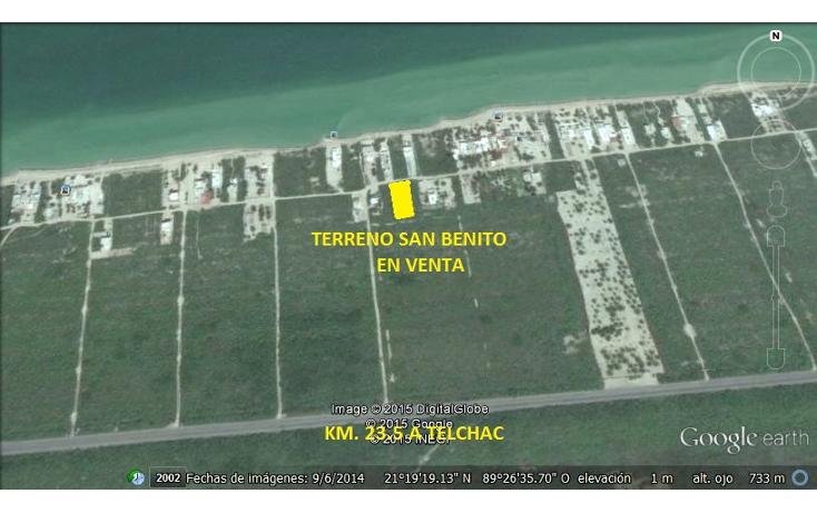 Foto de terreno habitacional en venta en  , san diego, dzemul, yucatán, 1474537 No. 01