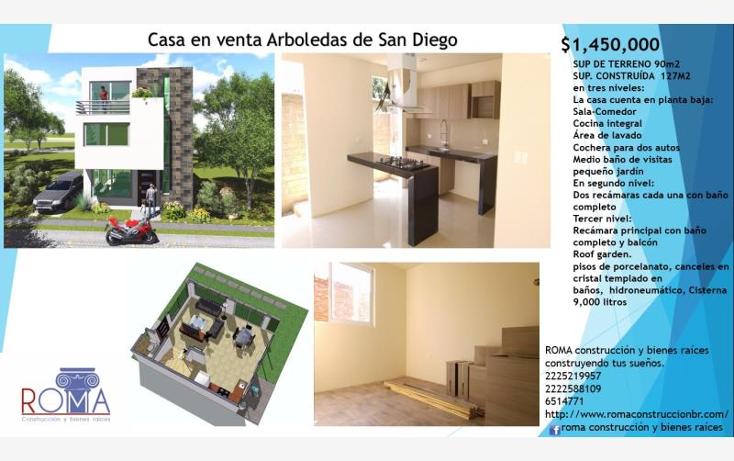 Foto de casa en venta en  , san diego, san pedro cholula, puebla, 1980296 No. 01