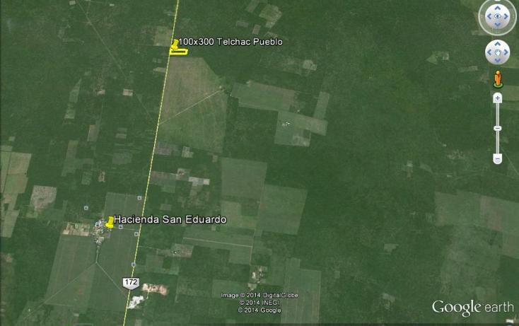 Foto de terreno habitacional en venta en  , san eduardo, telchac pueblo, yucat?n, 1274285 No. 02
