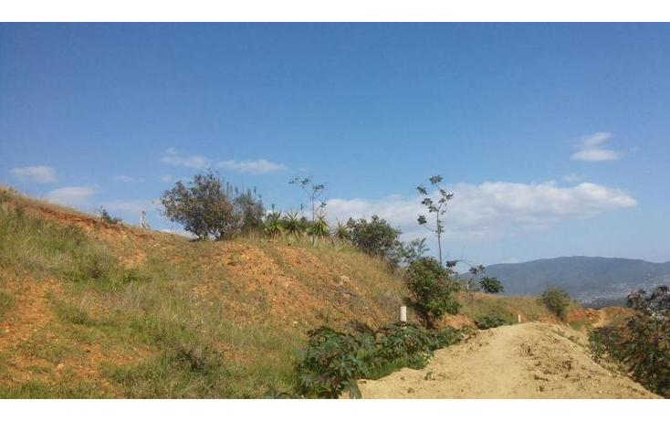 Foto de terreno habitacional en venta en  , san felipe del agua 1, oaxaca de juárez, oaxaca, 1009259 No. 08