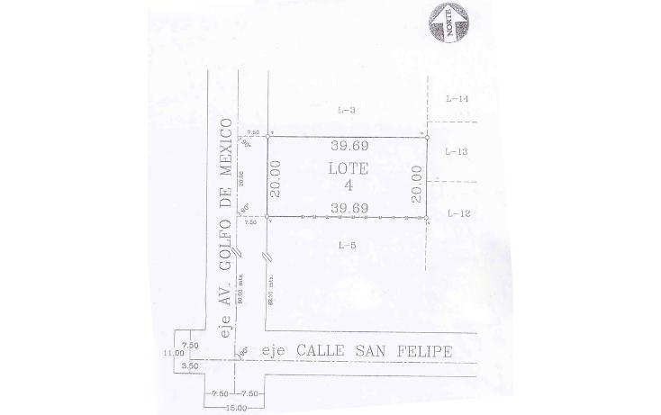 Foto de terreno habitacional en venta en  , san felipe, mexicali, baja california, 452905 No. 01
