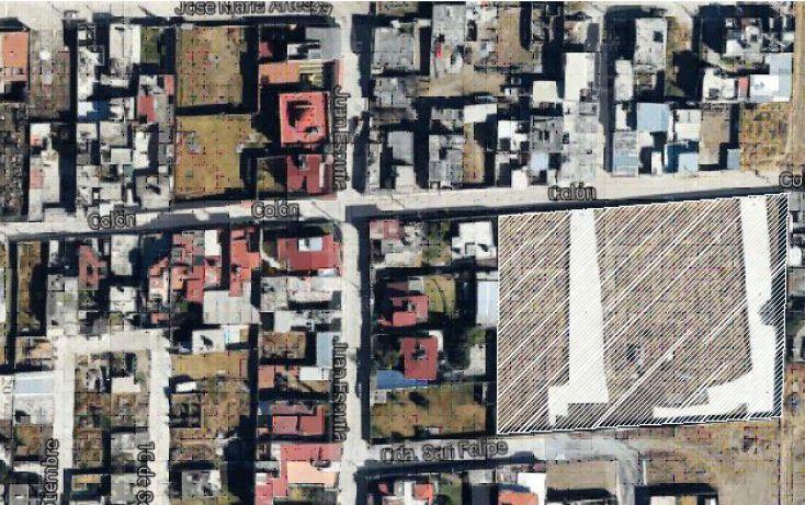 Foto de terreno habitacional en venta en, san felipe tlalmimilolpan, toluca, estado de méxico, 1761508 no 01