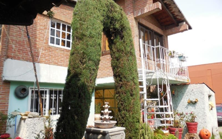 Foto de casa en venta en  , san felipe tlalmimilolpan, toluca, m?xico, 1325109 No. 01