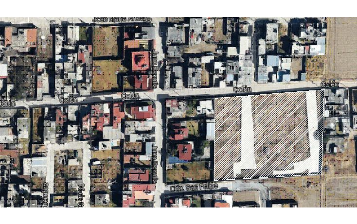 Foto de terreno habitacional en venta en  , san felipe tlalmimilolpan, toluca, méxico, 1761508 No. 01