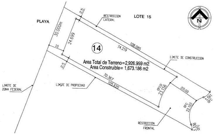 Foto de terreno habitacional en venta en  , san francisco, bahía de banderas, nayarit, 1502181 No. 02