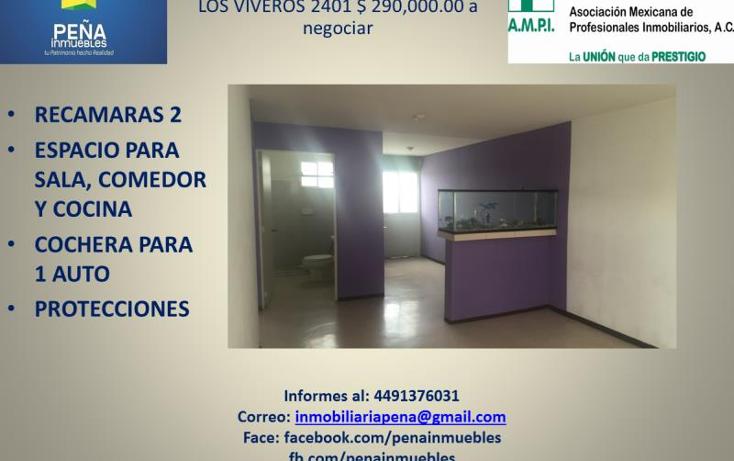Foto de departamento en venta en san francisco de los viveros 2401, ojocaliente i, aguascalientes, aguascalientes, 2357376 No. 02