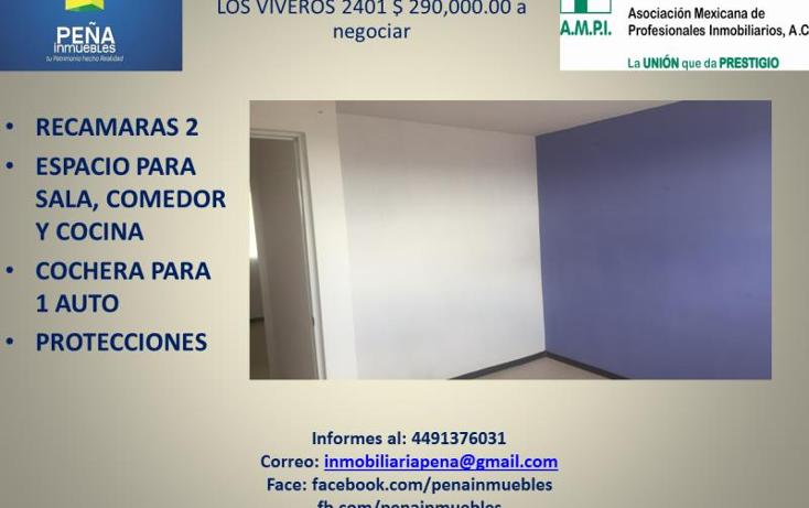 Foto de departamento en venta en  2401, ojocaliente i, aguascalientes, aguascalientes, 2357376 No. 03