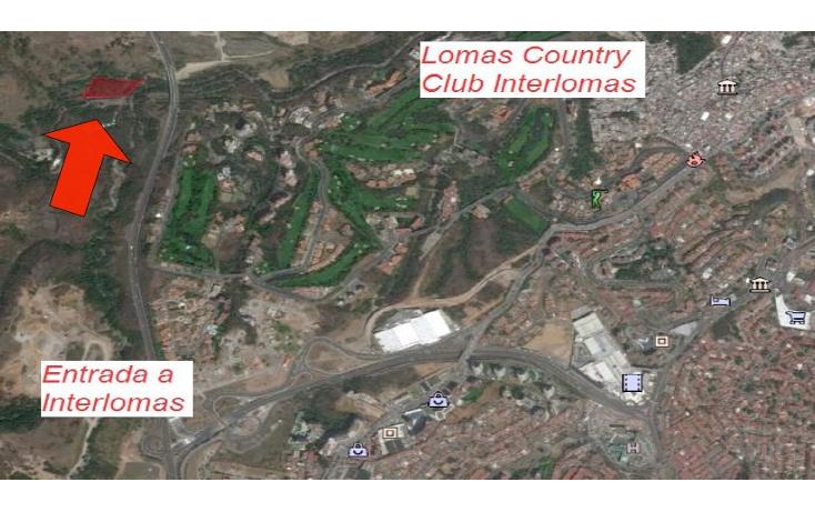 Foto de terreno habitacional en venta en  , san francisco dos ríos, huixquilucan, méxico, 1662170 No. 01