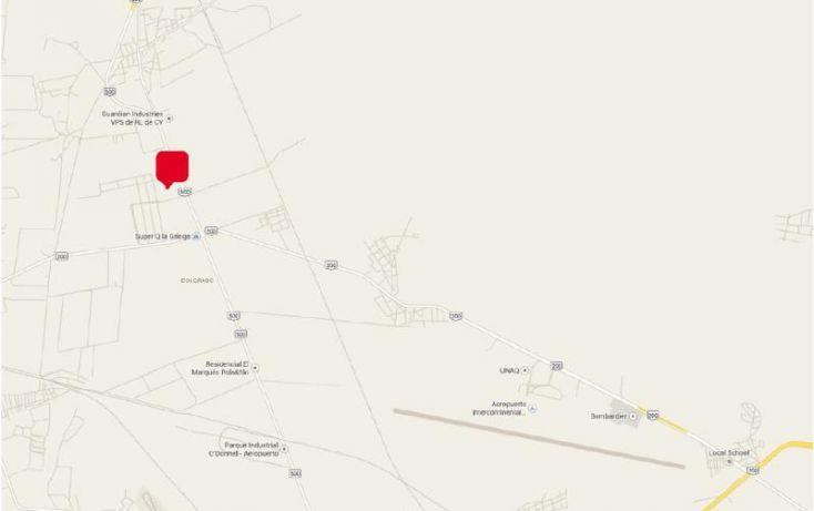 Foto de terreno comercial en venta en san francisco la griega 103c, casa blanca, el marqués, querétaro, 979473 no 03