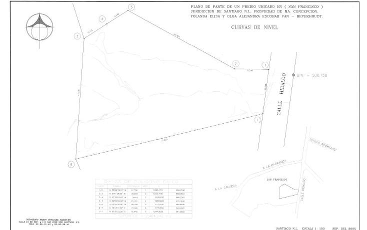 Foto de terreno habitacional en venta en  , san francisco, santiago, nuevo león, 1271855 No. 07