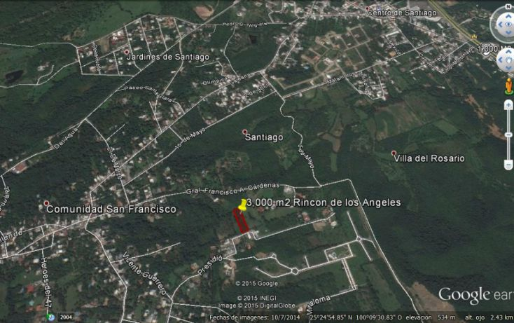 Foto de terreno habitacional en venta en, san francisco, santiago, nuevo león, 1297681 no 02