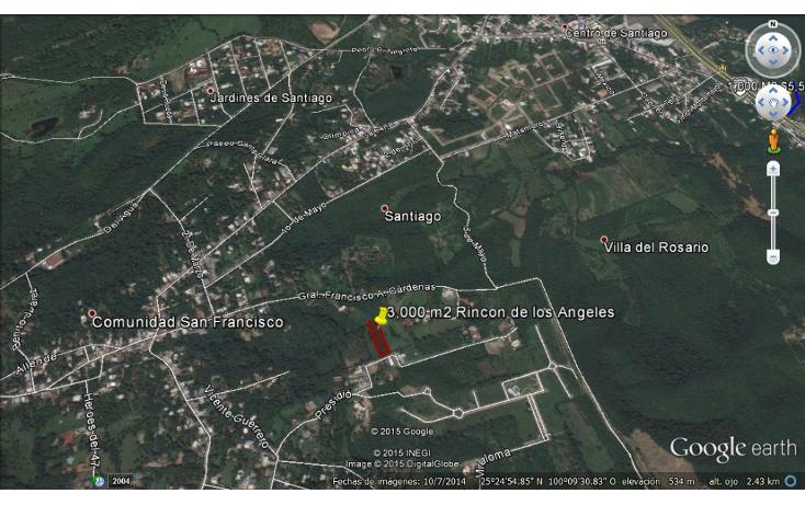 Foto de terreno habitacional en venta en  , san francisco, santiago, nuevo león, 1297681 No. 02