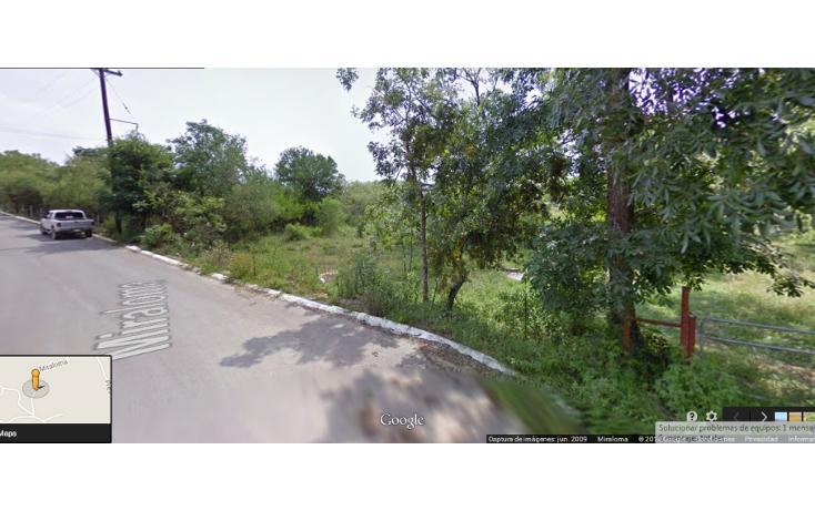 Foto de terreno habitacional en venta en  , san francisco, santiago, nuevo león, 949229 No. 01