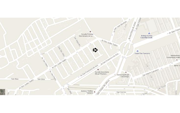 Foto de terreno habitacional en venta en  , san francisco tepojaco, cuautitlán izcalli, méxico, 1712678 No. 05