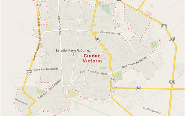 Foto de terreno habitacional en venta en  , san francisco, victoria, tamaulipas, 1136805 No. 03